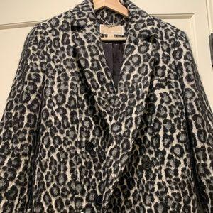 Michael Kors leopard coat